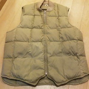 Eddie Baue Sport Mens Down Warm Tan Vest 42 / L